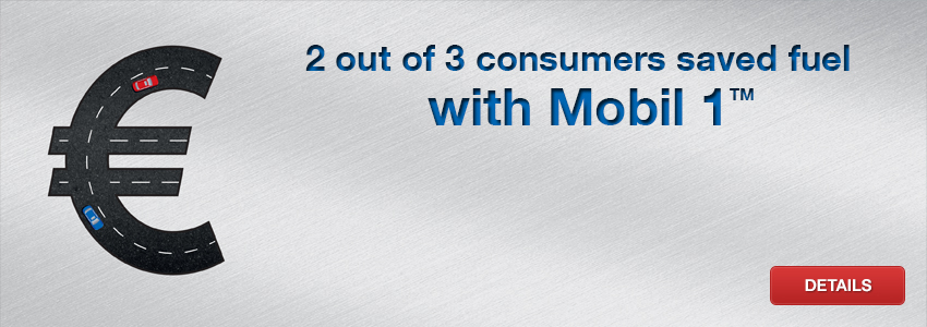 2 out of 3 consumers have managed to get fuel economy by using Mobil 1