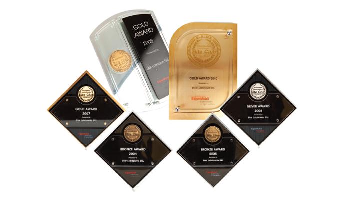 ExxonMobil Elite Club Distributor Awards