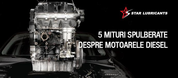 5 mituri spulberate despre motoarele diesel