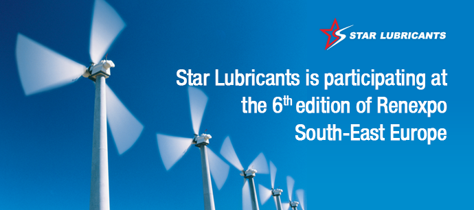 Star Lubricants is participating at the 6th edition of Renexpo South-East Europe