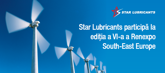Star Lubricants participă la ediția a VI-a a Renexpo South-East Europe