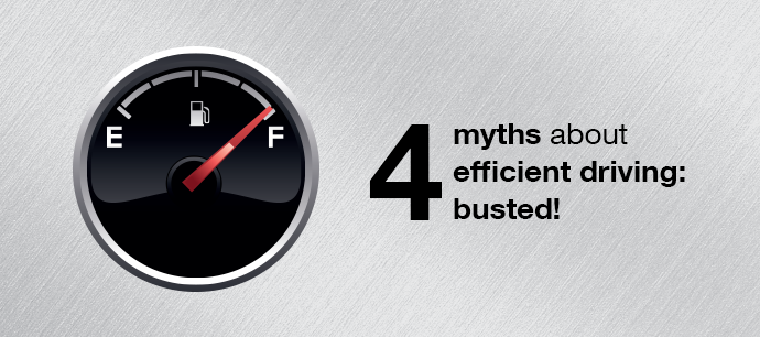 4 myths about the efficient driving - busted