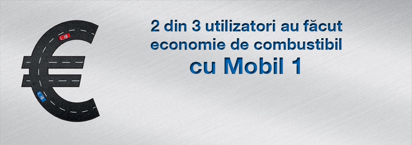 2 din 3 utilizatori au făcut economie de combustibil cu Mobil 1