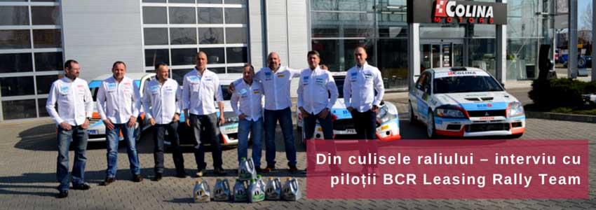 Din culisele raliului – interviu cu piloții BCR Leasing Rally Team