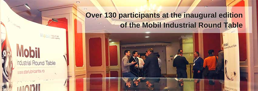 Over 130 participants at the inaugural edition of the Mobil Industrial Round Table
