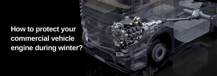 How to protect your commercial vehicle engine during winter