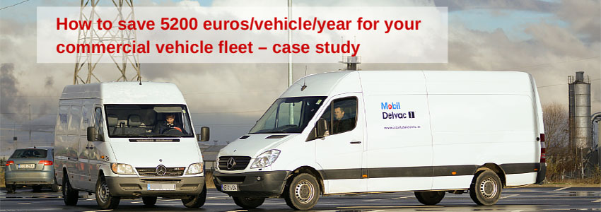 How to save 5200 euros/vehicle/year for your commercial vehicle fleet