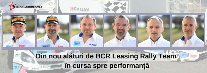 Din nou alături de BCR Leasing Rally Team în cursa spre performanță