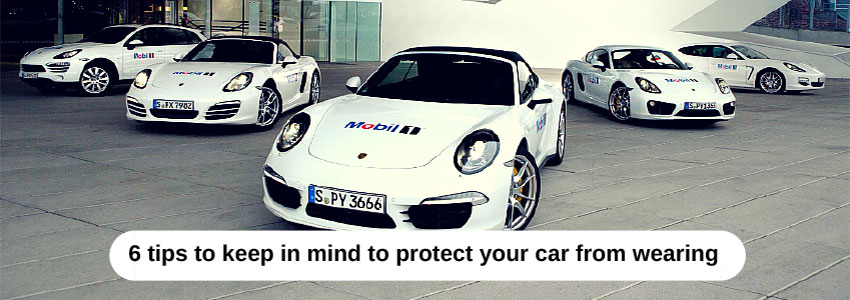 6 tips to keep in mind to protect your car from wearing