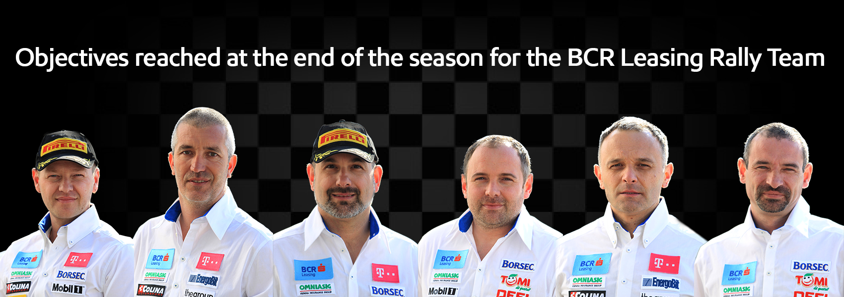 Objectives reached at the end of the season for the BCR Leasing Rally Team