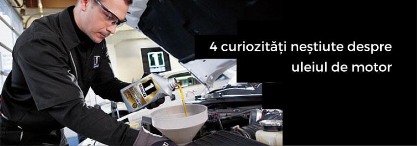4 curiozități neștiute despre uleiul de motor