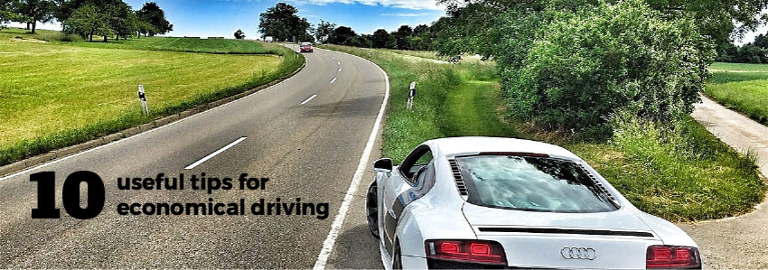 10 useful tips for economical driving