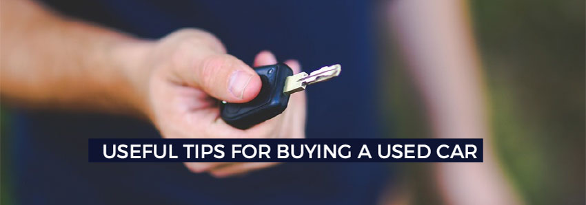 Useful tips for buying a used car