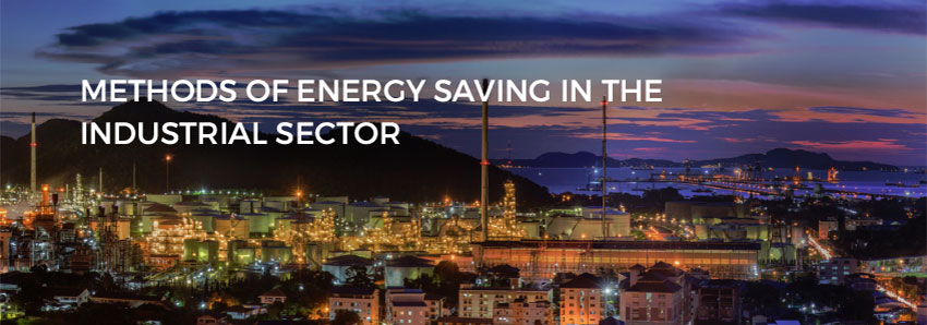 Methods of energy saving in the industrial sector