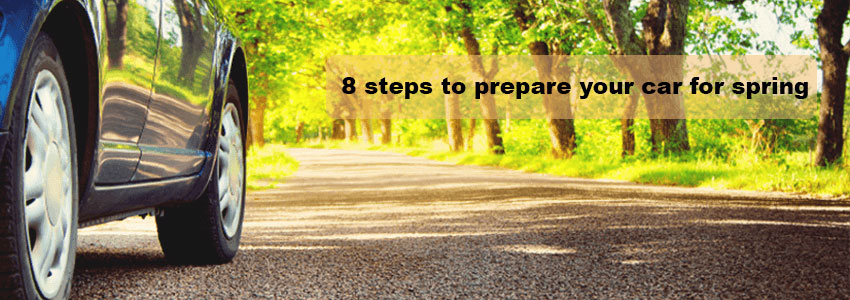 8 steps to prepare your car for spring