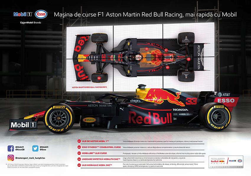 Combustibilul și uleiul de motor - cruciale pentru victoriile Aston Martin Red Bull Racing