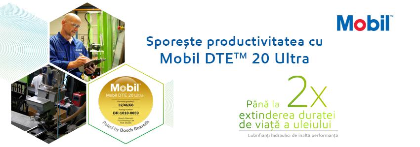 ExxonMobil lansează Mobil DTE™ 20 Ultra Series cu durată lungă de viață