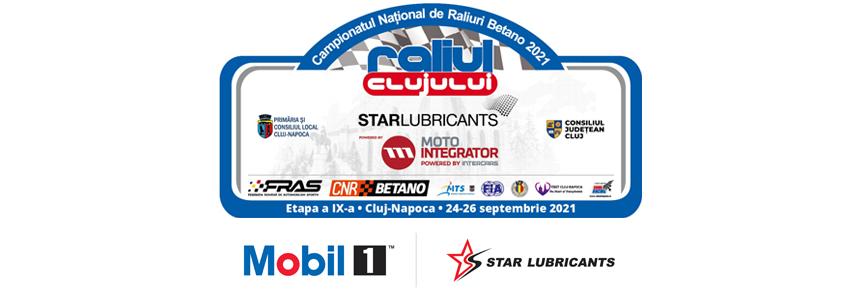 Star Lubricants - sponsor principal Raliul Clujului 2021